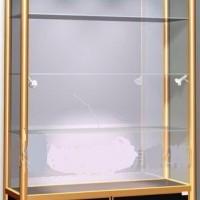 现货供应展示柜江西展示柜钛合金展示柜定做鄱阳展示柜定制展示柜**