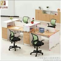 办公桌 上海办公家具 电脑桌 组合员工位 屏风隔断四人桌多人
