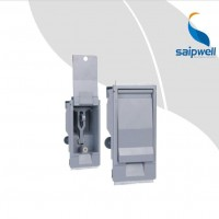 ,赛普直销SP-MS888-1电柜门锁 锌合金平面锁 灰锁